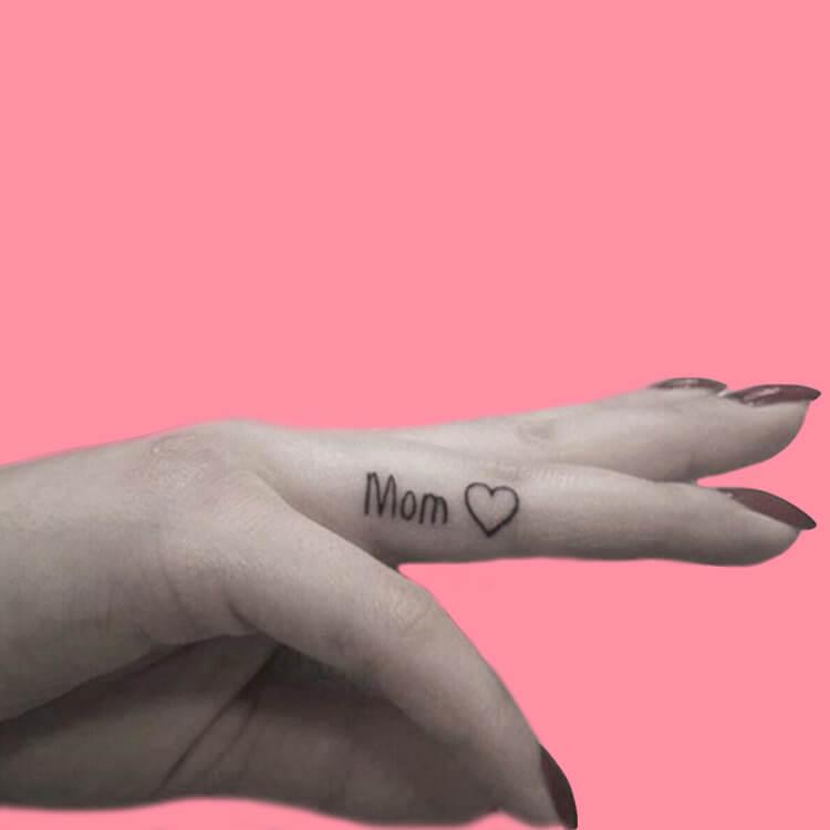 27+ Mini Finger Tattoos For Women Beauty 2019 Trend 22