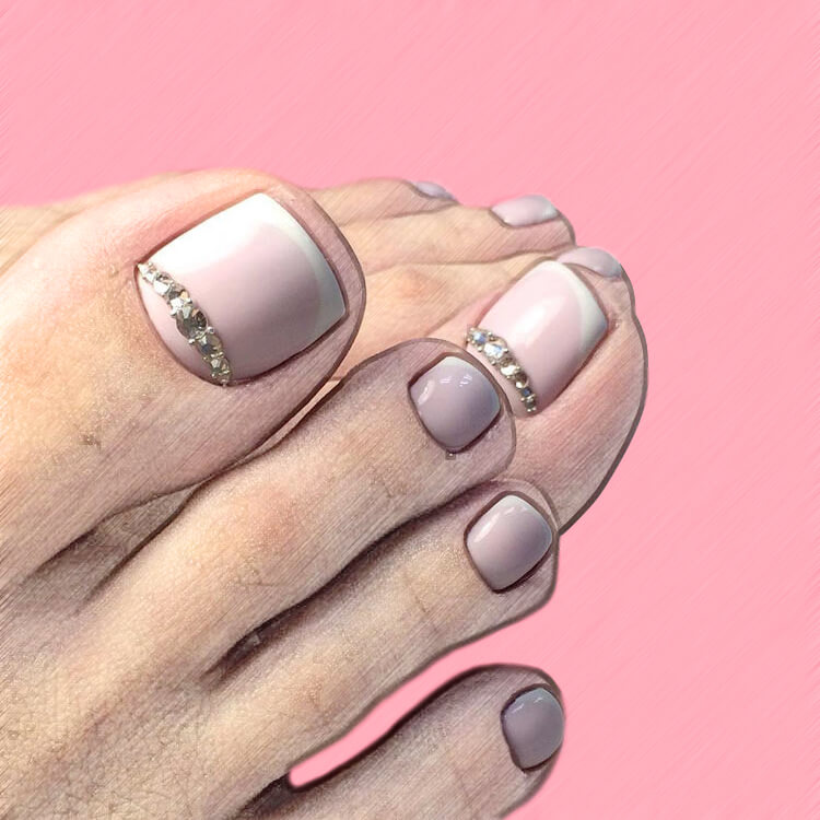 50+ Pretty Toe Nail Design You Should Try In This Summer 1