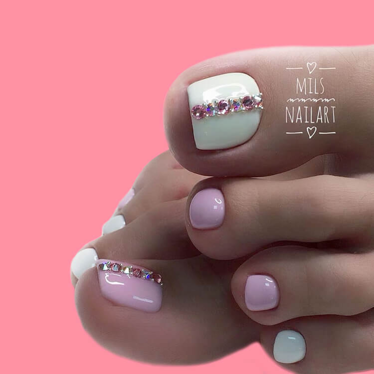 50+ Pretty Toe Nail Design You Should Try In This Summer 10