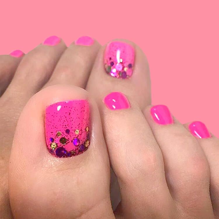 50+ Pretty Toe Nail Design You Should Try In This Summer 12