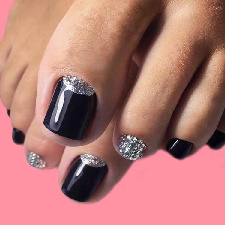 50+ Pretty Toe Nail Design You Should Try In This Summer 15