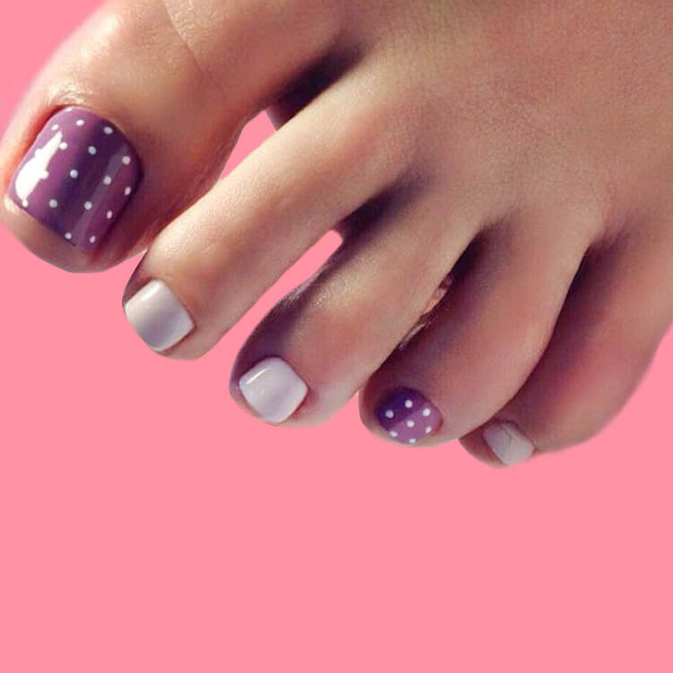 50+ Pretty Toe Nail Design You Should Try In This Summer 16