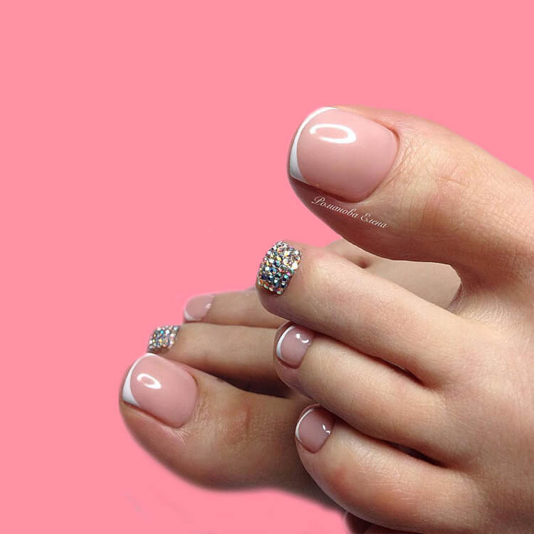 50+ Pretty Toe Nail Design You Should Try In This Summer 2