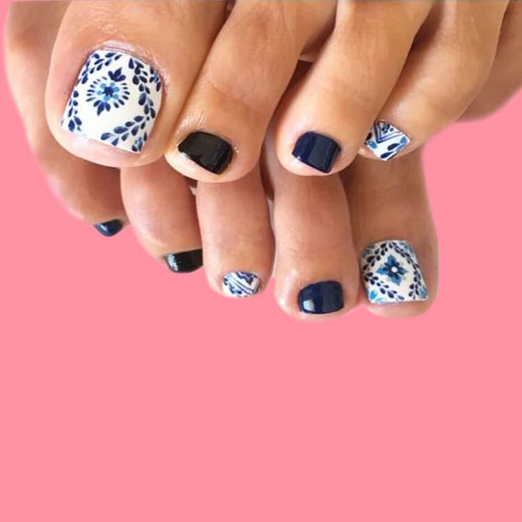50+ Pretty Toe Nail Design You Should Try In This Summer 21