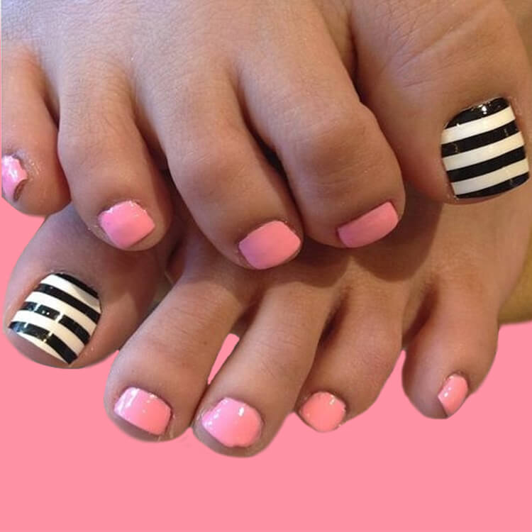 50+ Pretty Toe Nail Design You Should Try In This Summer 22