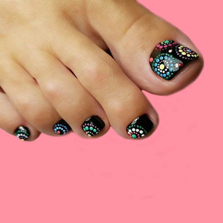 50+ Pretty Toe Nail Design You Should Try In This Summer 23