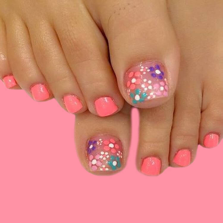 50+ Pretty Toe Nail Design You Should Try In This Summer 25