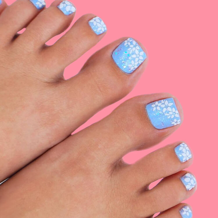50+ Pretty Toe Nail Design You Should Try In This Summer 26