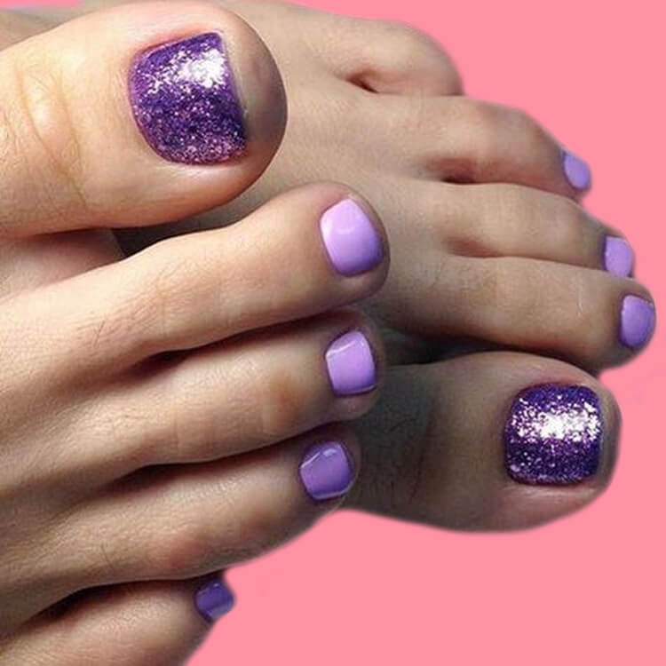 50+ Pretty Toe Nail Design You Should Try In This Summer 27