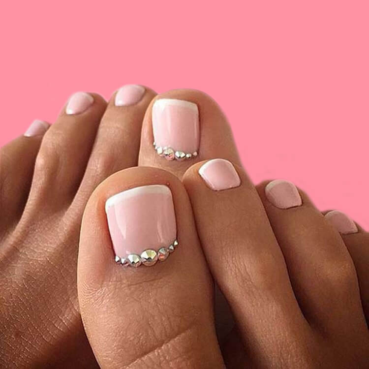 50+ Pretty Toe Nail Design You Should Try In This Summer 30