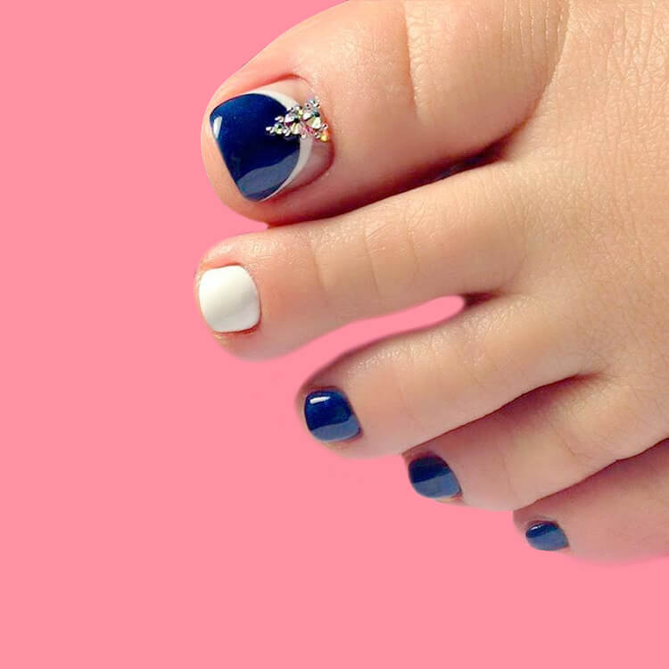 50+ Pretty Toe Nail Design You Should Try In This Summer 31