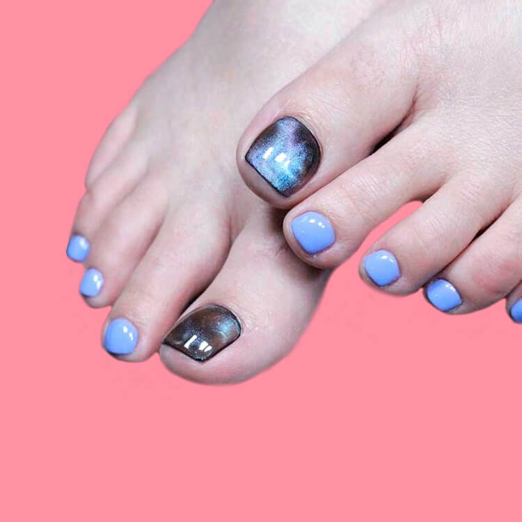 50+ Pretty Toe Nail Design You Should Try In This Summer 33
