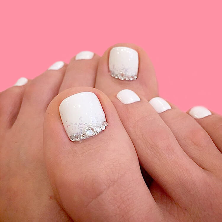 50+ Pretty Toe Nail Design You Should Try In This Summer 34