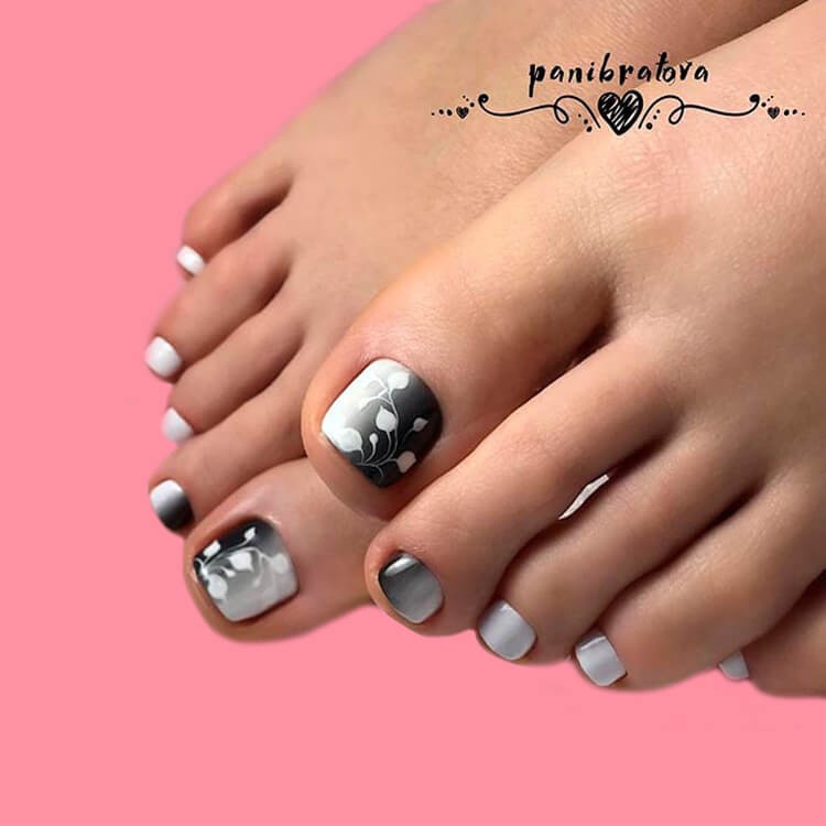 50+ Pretty Toe Nail Design You Should Try In This Summer 38