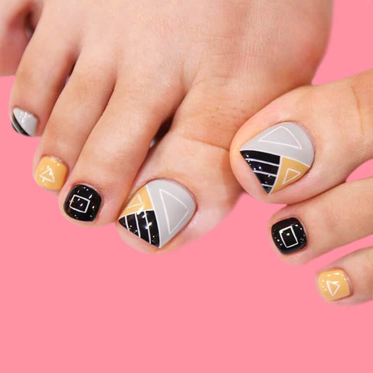 50+ Pretty Toe Nail Design You Should Try In This Summer 40