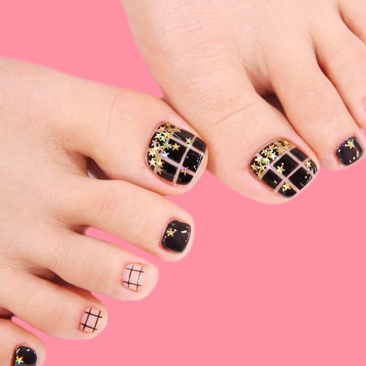 50+ Pretty Toe Nail Design You Should Try In This Summer 41