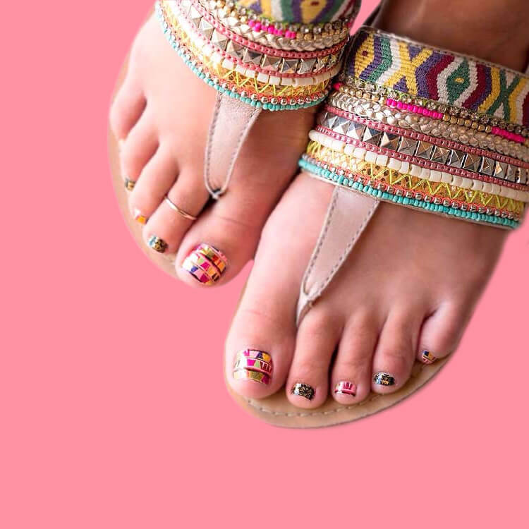 50+ Pretty Toe Nail Design You Should Try In This Summer 42
