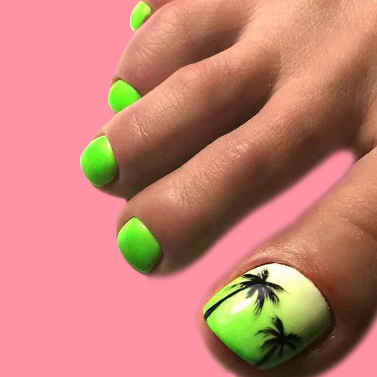 50+ Pretty Toe Nail Design You Should Try In This Summer 48
