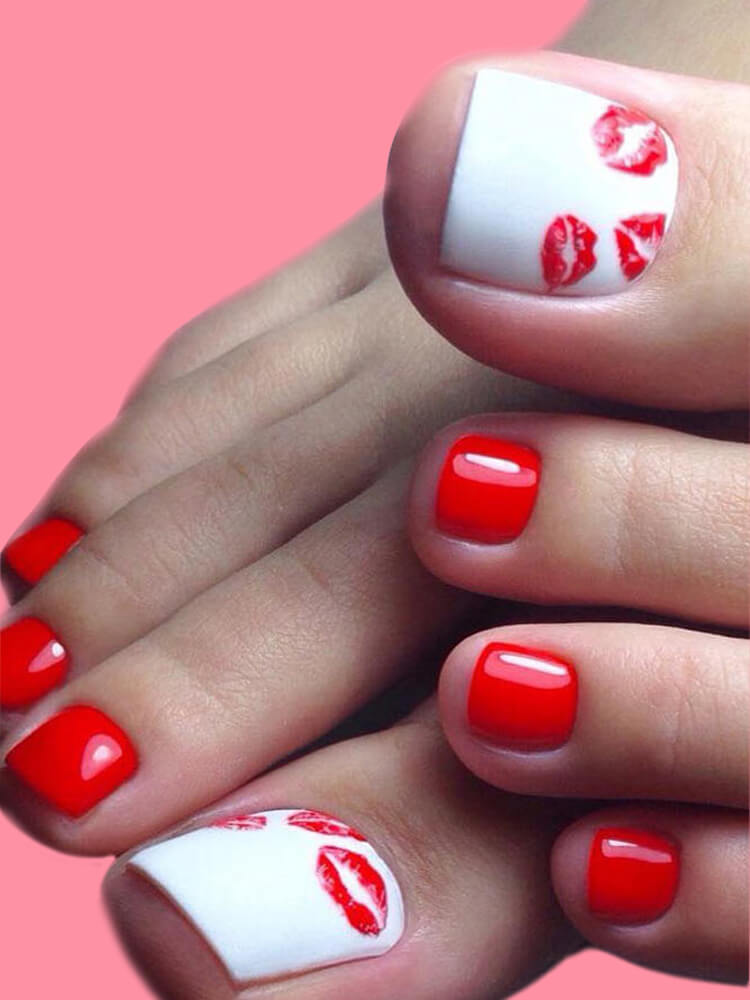 50+ Pretty Toe Nail Design You Should Try In This Summer 50