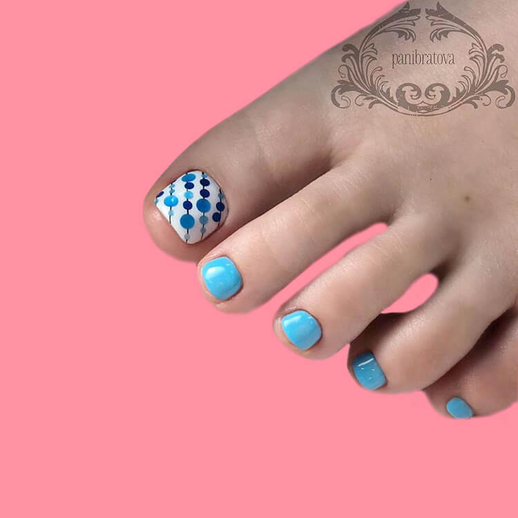 50+ Pretty Toe Nail Design You Should Try In This Summer 51