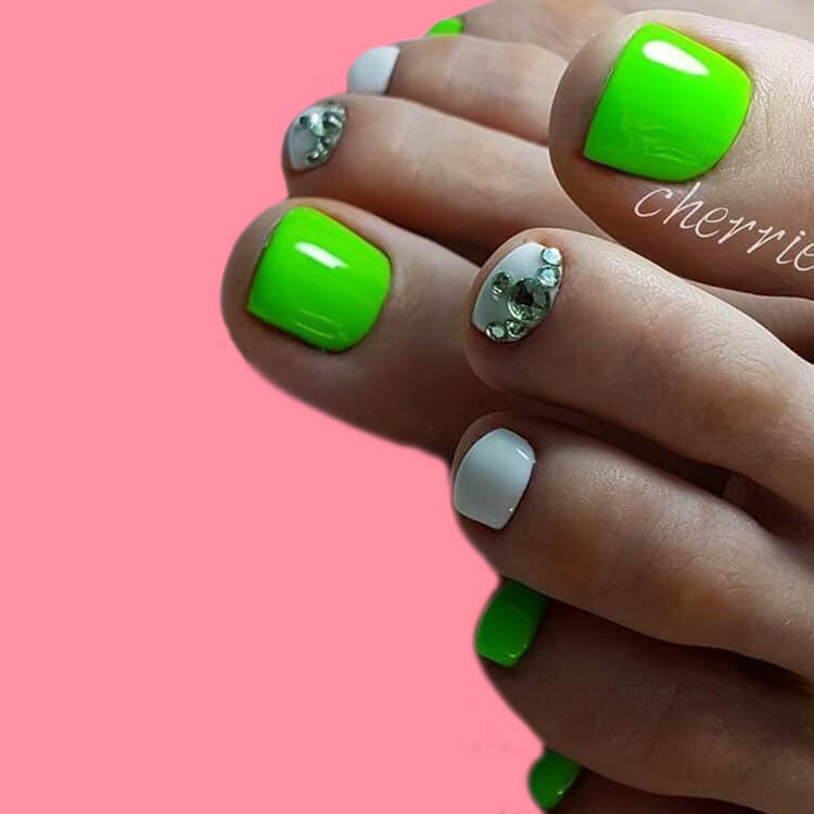50+ Pretty Toe Nail Design You Should Try In This Summer 6