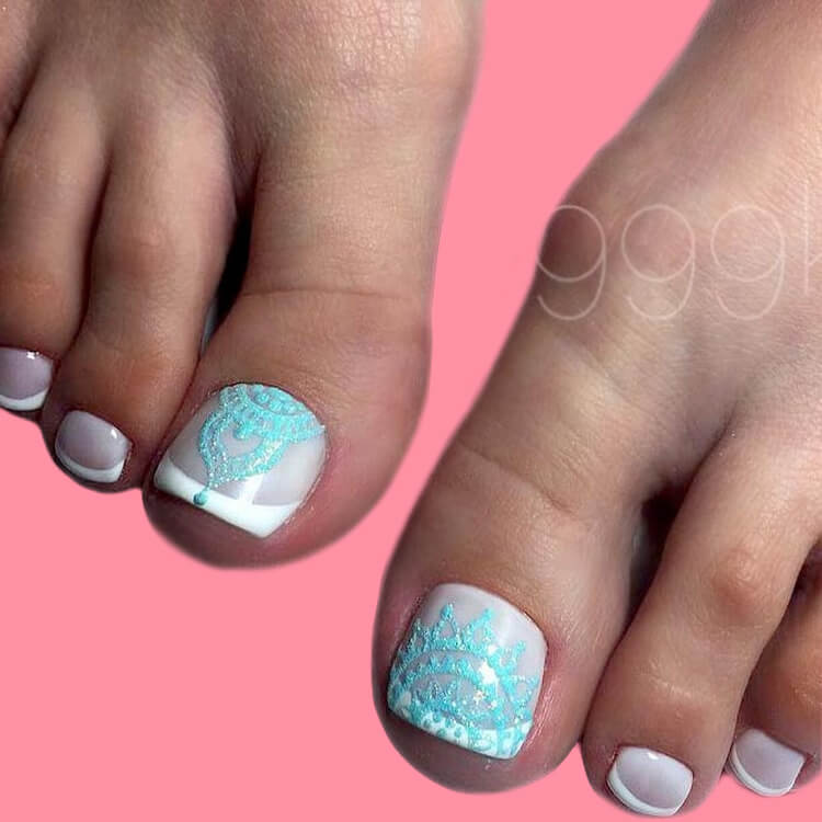 50+ Pretty Toe Nail Design You Should Try In This Summer 8