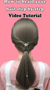 How to braid your hair step by step L2
