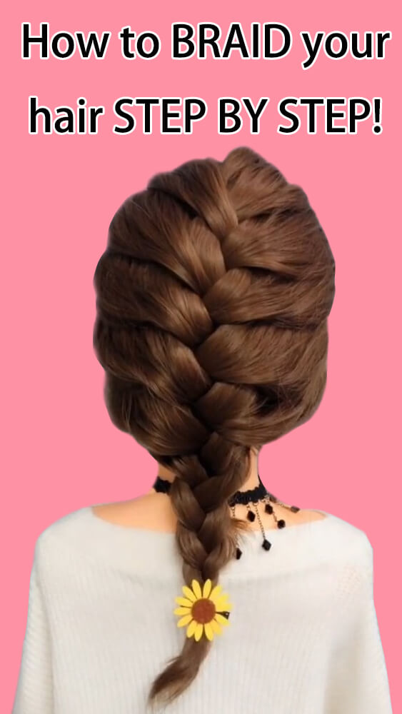 How to braid your hair step by step L1