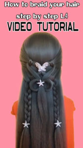 How to braid your hair step by step L4