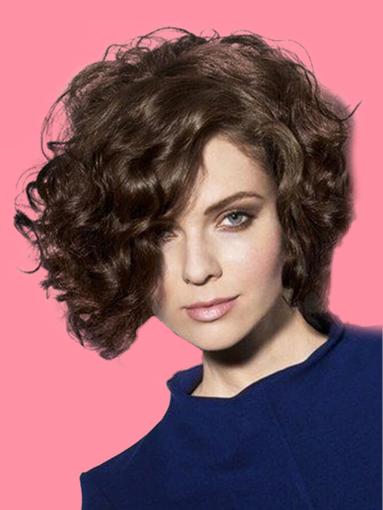 11 Attractive Short Curly Thick Hairstyles Trend in this Summer 4