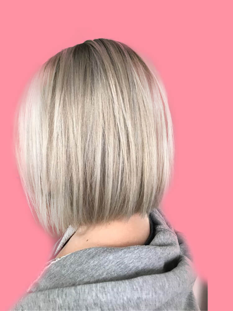 17+ Attractive Straight Medium Length Hairstyles Ideas for Lady's Beauty 10