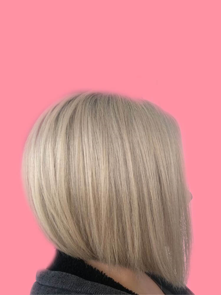 17+ Attractive Straight Medium Length Hairstyles Ideas for Lady's Beauty 11