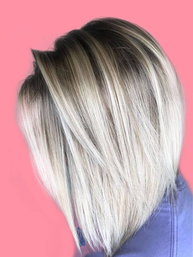 17+ Attractive Straight Medium Length Hairstyles Ideas for Lady's Beauty 12