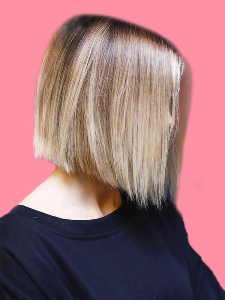 17+ Attractive Straight Medium Length Hairstyles Ideas for Lady's Beauty 13