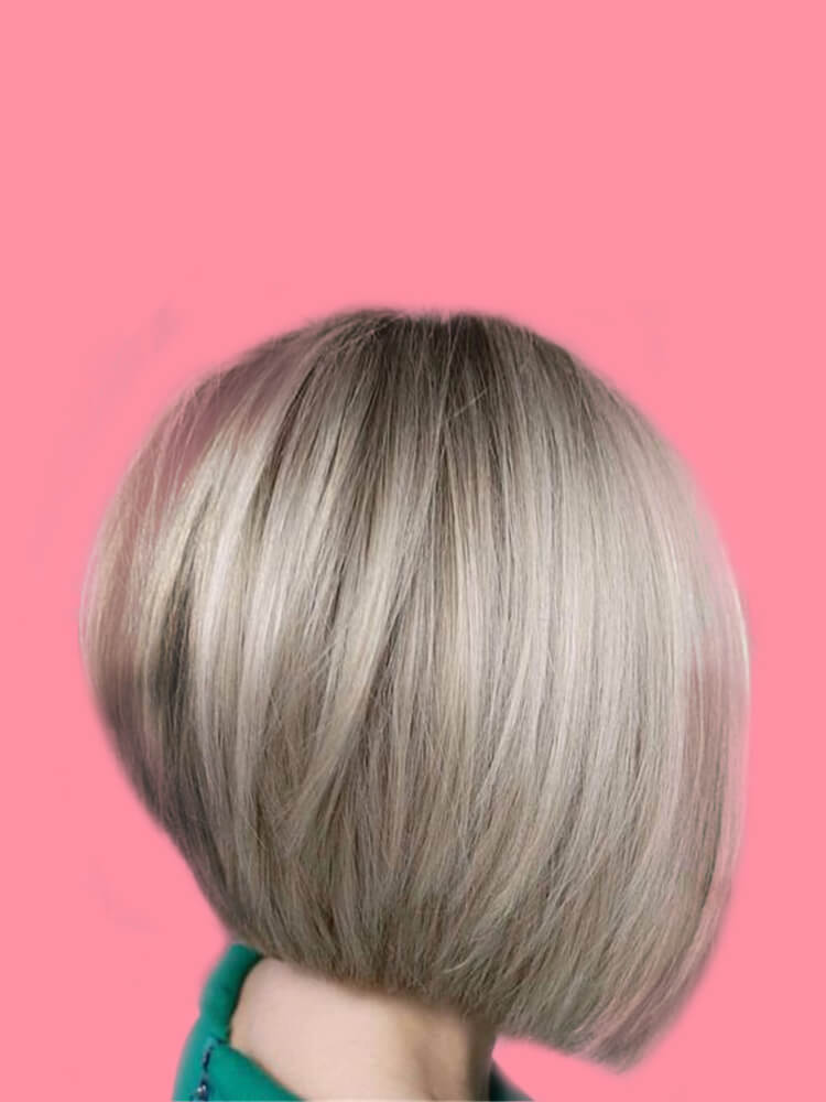 17+ Attractive Straight Medium Length Hairstyles Ideas for Lady's Beauty 14