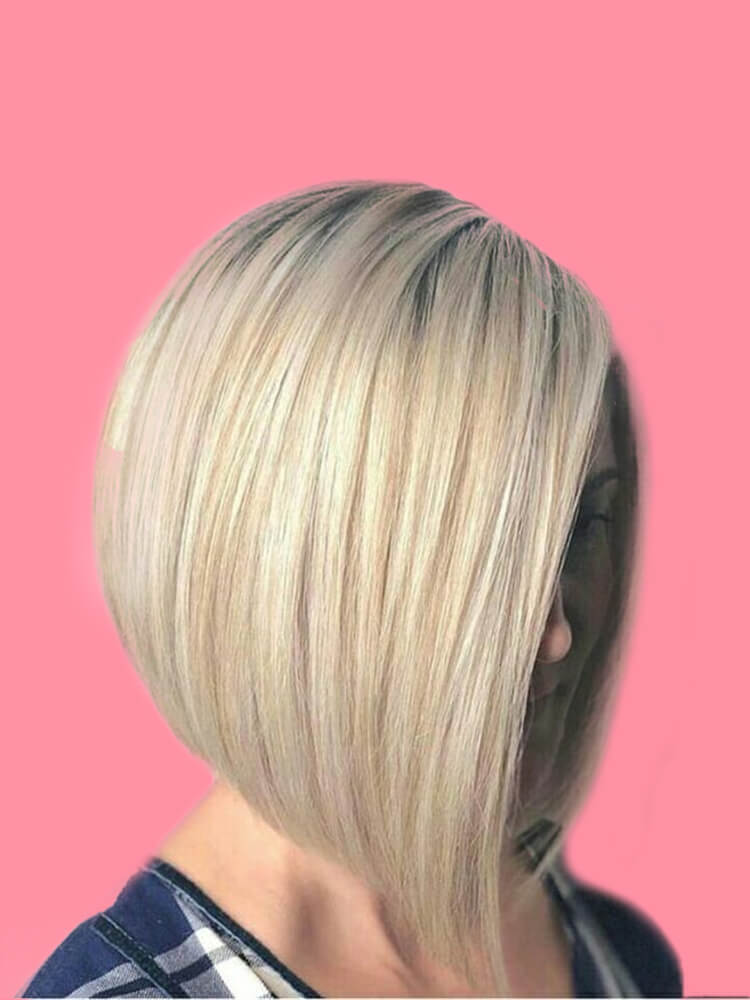 17+ Attractive Straight Medium Length Hairstyles Ideas for Lady's Beauty 16