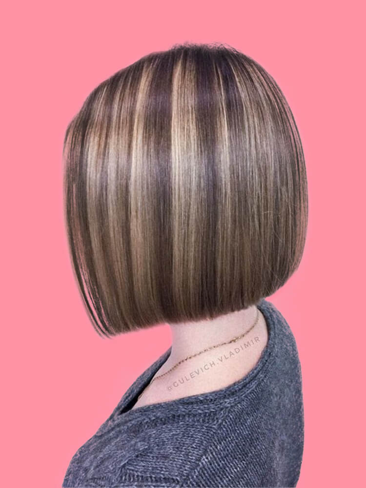 17+ Attractive Straight Medium Length Hairstyles Ideas for Lady's Beauty 17