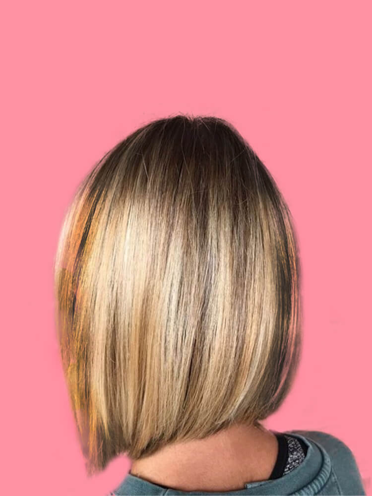 17+ Attractive Straight Medium Length Hairstyles Ideas for Lady's Beauty 3