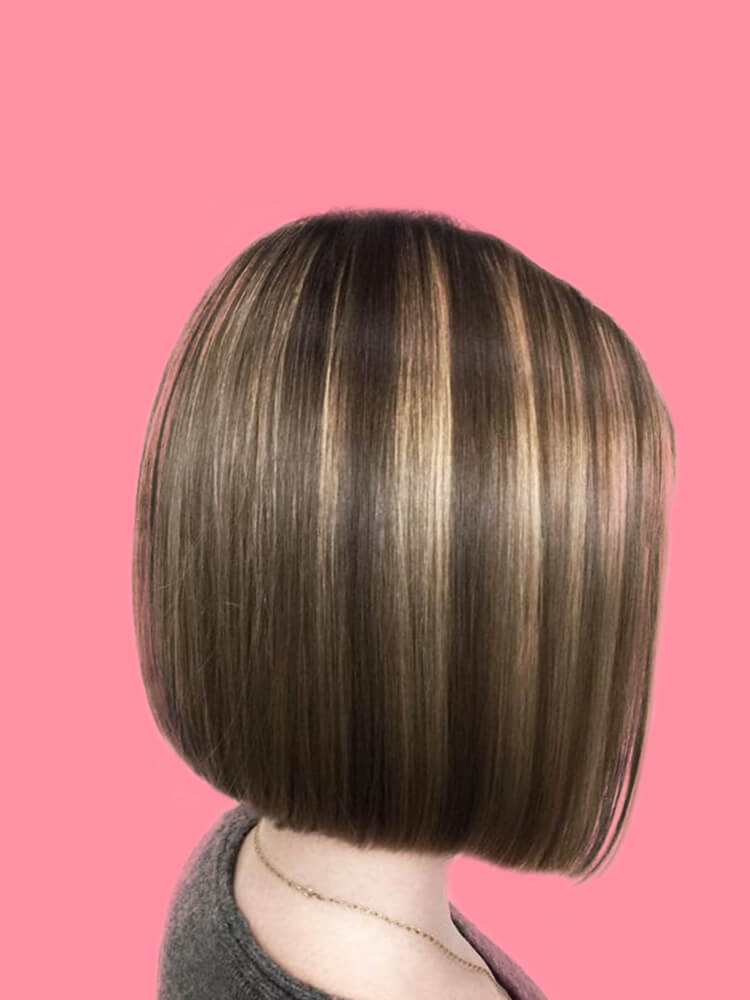 17+ Attractive Straight Medium Length Hairstyles Ideas for Lady's Beauty 4