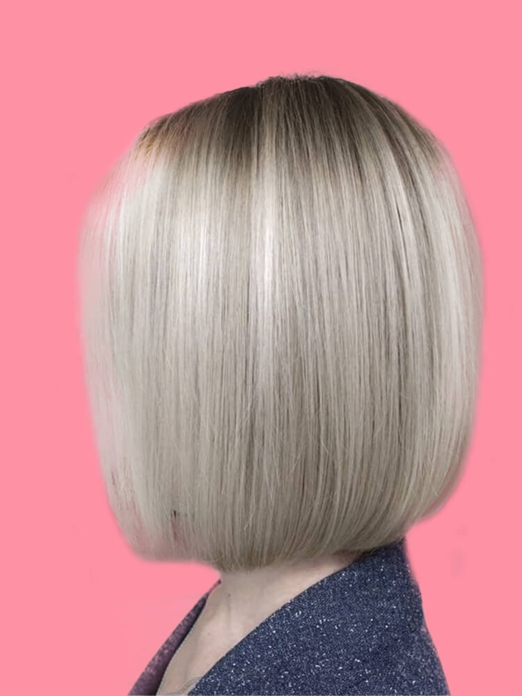 17+ Attractive Straight Medium Length Hairstyles Ideas for Lady's Beauty 5