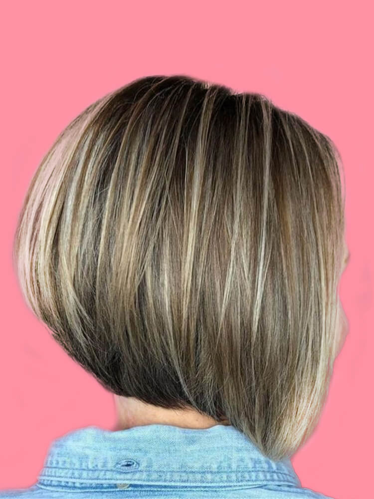 17+ Attractive Straight Medium Length Hairstyles Ideas for Lady's Beauty 7