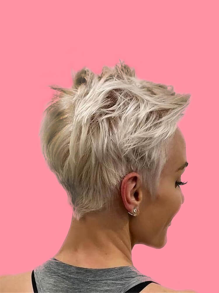 22+ Stunning Short Edgy Pixie Hairstyles Designs and Cuts for this Summer 1