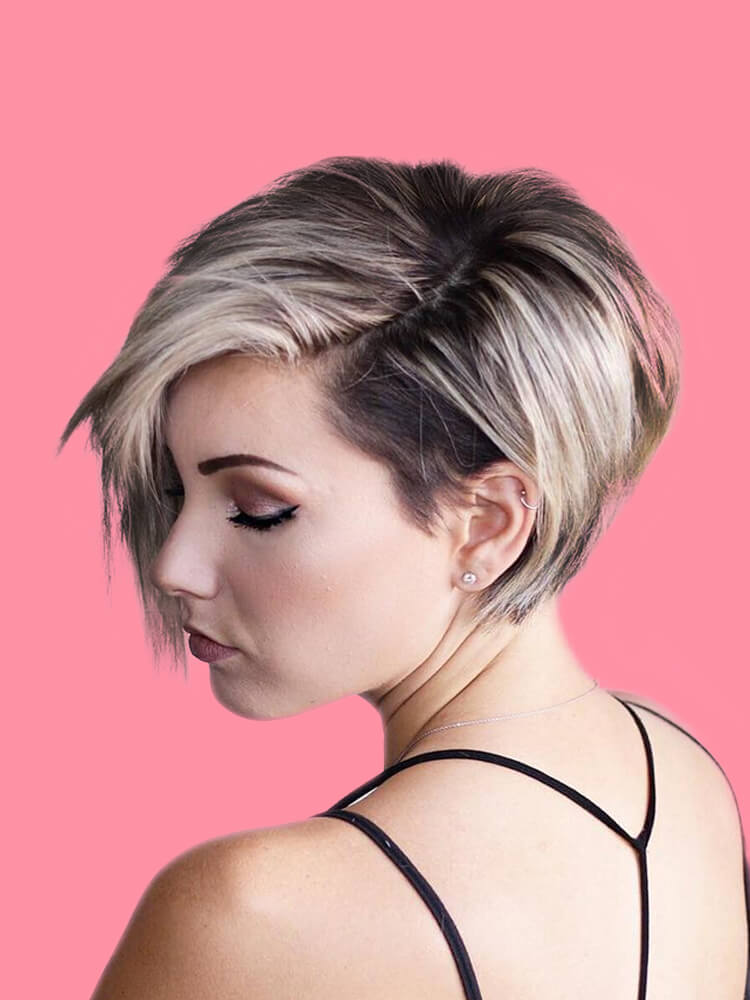 22+ Stunning Short Edgy Pixie Hairstyles Designs and Cuts for this Summer 11