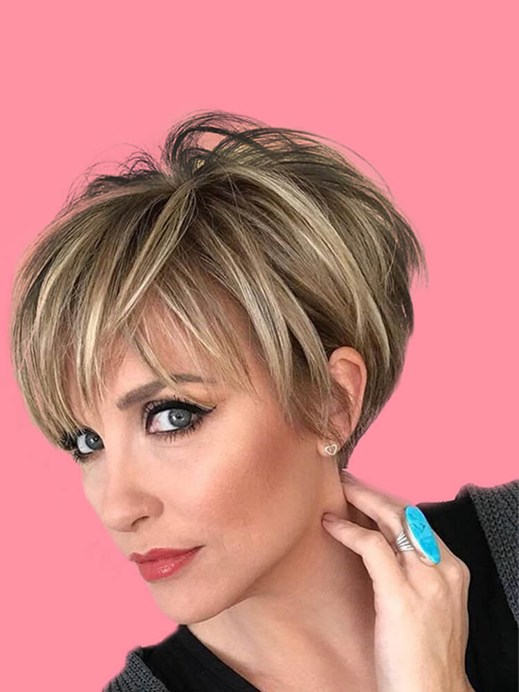 22+ Stunning Short Edgy Pixie Hairstyles Designs and Cuts for this Summer 12