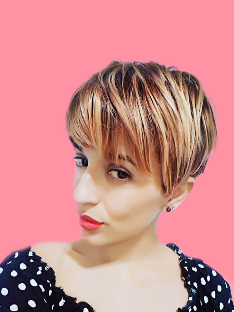 22+ Stunning Short Edgy Pixie Hairstyles Designs and Cuts for this Summer 13
