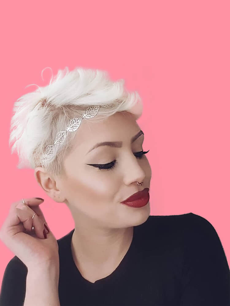 22+ Stunning Short Edgy Pixie Hairstyles Designs and Cuts for this Summer 14