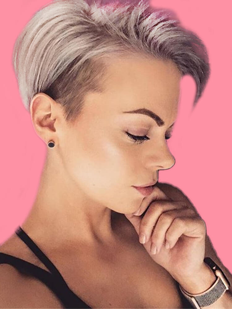 22+ Stunning Short Edgy Pixie Hairstyles Designs and Cuts for this Summer 15
