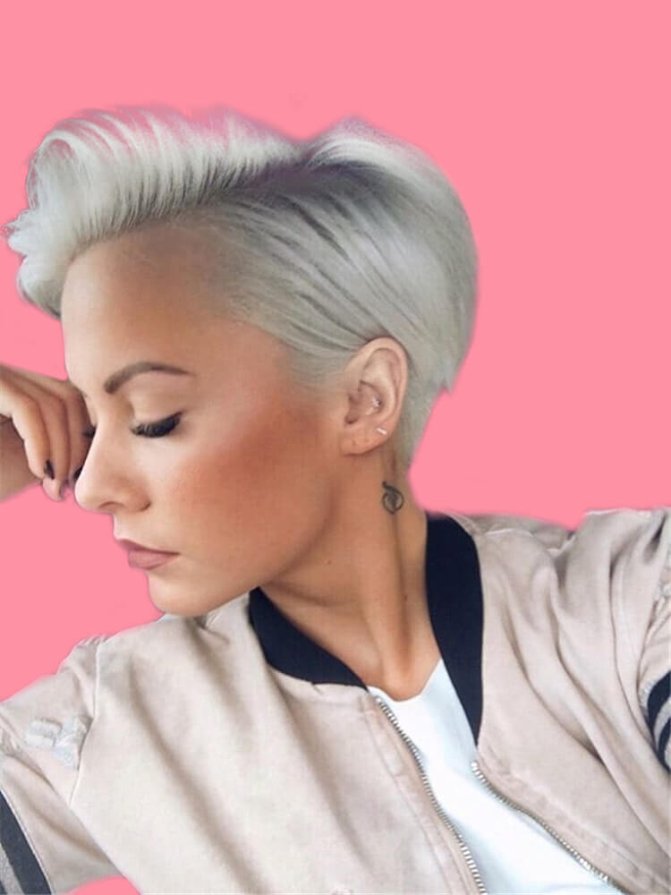 22+ Stunning Short Edgy Pixie Hairstyles Designs and Cuts for this Summer 4