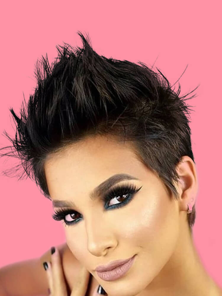 22+ Stunning Short Edgy Pixie Hairstyles Designs and Cuts for this Summer 5
