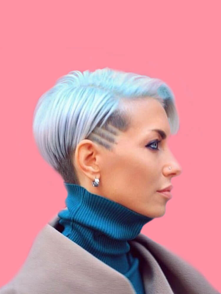 22+ Stunning Short Edgy Pixie Hairstyles Designs and Cuts for this Summer 7